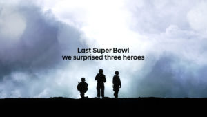Hyundai Teases Its Super Bowl Advertising During the AFC and NFC Championship Games (PRNewsfoto/Hyundai Motor America)